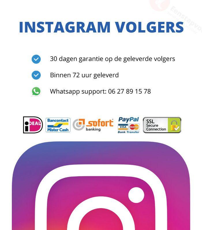 Instagram-volgers-kopen-eenstapvoor.nl