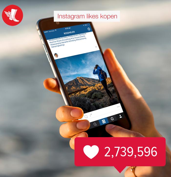 Instagram likes kopen